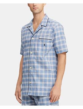 Men's Plaid Pajama Shirt by Polo Ralph Lauren