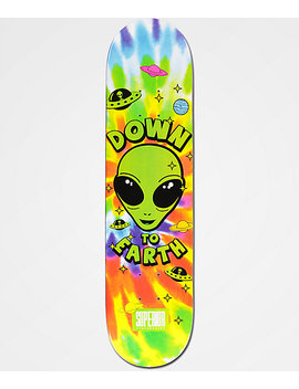 "Superior Down To Earth 7.75"" Skateboard Deck by Superior"