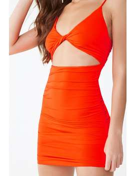 Twisted Cutout Bodycon Dress by Forever 21