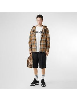 Vintage Check Lightweight Hooded Jacket by Burberry