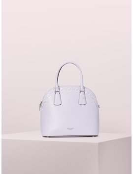 Sylvia Perforated Large Satchel by Kate Spade
