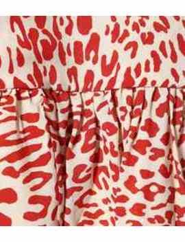 Alda Printed Silk Blend Minidress by Baum Und Pferdgarten