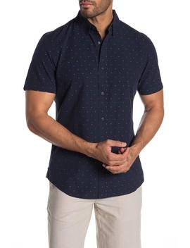Dobby Short Sleeve Shirt by Wallin & Bros