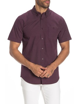 Charlie Printed Woven Slim Fit Shirt by Obey