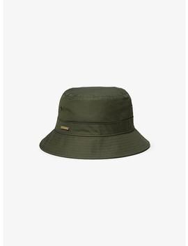 Cotton Blend Bucket Hat by Michael Michael Kors