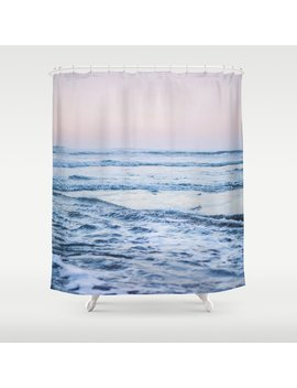 Pacific Ocean Waves Shower Curtain by Society6