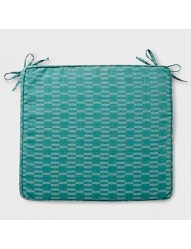 City Geo Outdoor Seat Cushion Smoke Green   Project 62™ by Shop This Collection