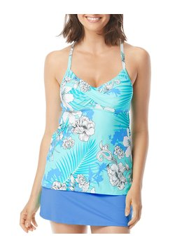 Garden State Lucy Twist Underwire Tankini Swimsuit Top by Beach House
