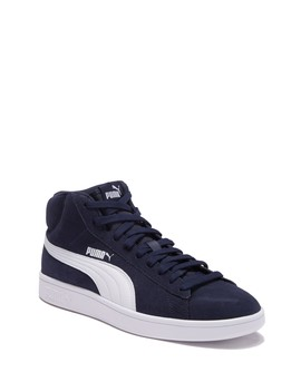 Smash V2 Mid Top Sneaker by Puma
