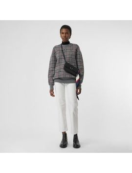 check-cashmere-jacquard-sweater by burberry