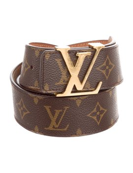 Monogram Initiales 40 Mm Belt by Louis Vuitton