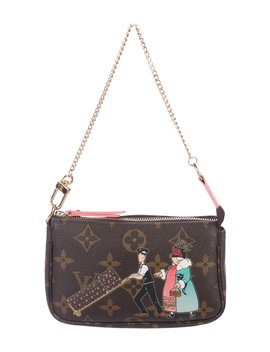 Monogram Illustre Travel Mini Pochette Accessoires by Louis Vuitton