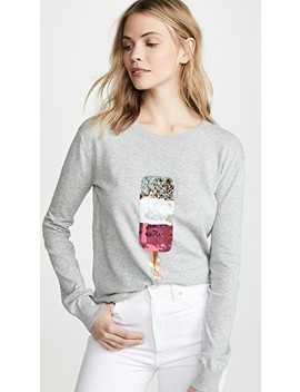 Natalie Popsicle Sequin Sweater by Markus Lupfer