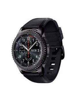Samsung Gear S3 Frontier Smartwatch Sm R760 Bluetooth Ver. [Dark Gray] Displayed by Samsung