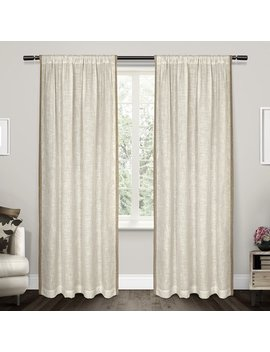 Exclusive Home Baja Curtain Panel Pair by Hayneedle