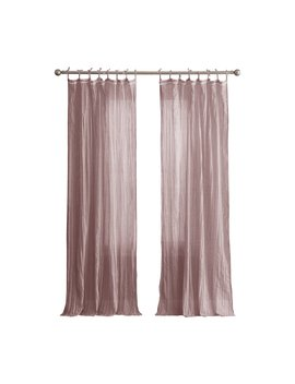 Peach And Oak Clover Solid Curtain Panel by Peach And Oak