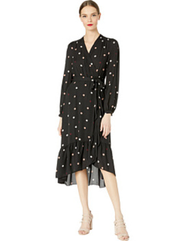 Glitzy Ritzy Bakery Dot Wrap Dress by Kate Spade New York