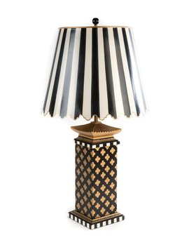 Quatrefoil Large Table Lamp by Mac Kenzie Childs