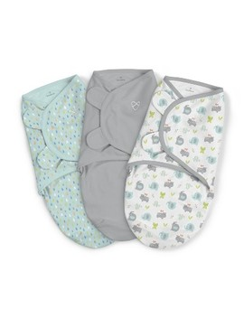 Swaddle Me Original Swaddle 3pk   Jungle Drops   S/M by Swaddle Me