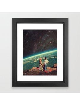 Love Framed Art Print by Society6