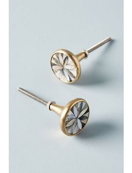Geofloral Knobs, Set Of 2 by Anthropologie