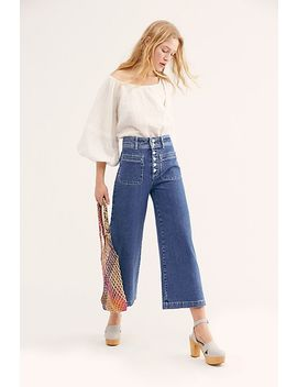Colette Wide Leg Jeans by Free People
