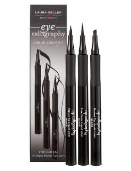 Eye Calligraphy Fine Point Liquid Liner Trio ($60 Value) by Laura Geller New York