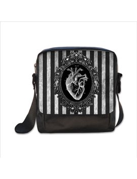 Anatomical Heart Cross Body Bag by Etsy