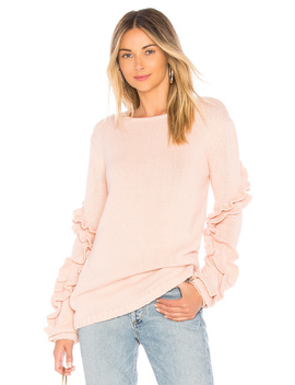 Flounce Sweater by Tularosa