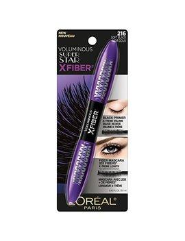 L'oréal Paris Makeup Voluminous X Fiber Mascara With Black Primer, Soft Black, 0.43 Fl. Oz. by L'oreal Paris
