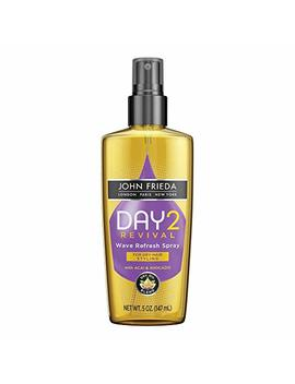 John Frieda Day 2 Revival Wave Refresh Spray, 5 Fluid Ounce by John Frieda