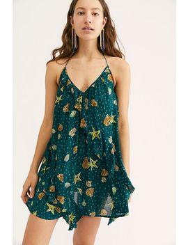 Sunlit Printed Mini Dress by Free People
