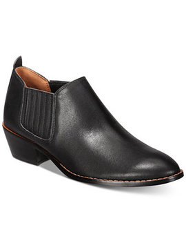 Devin Leather Shooties by Coach