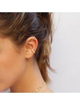 """<Span Data Inner Title="""""""">Ear Cuff, Cz Ear Cuff, Dainty Ear Cuff, Minimalist Ear Cuff, Delicate Ear Cuff, Double Band Ear Cuff, Gold Ear Cuff, Silver Ear Cuff</Span> by Etsy"""