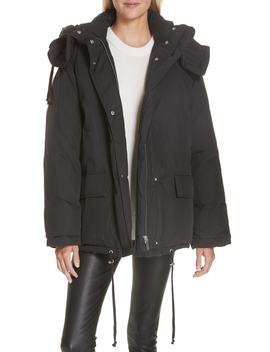 Removable Hood Puffer Jacket by Helmut Lang