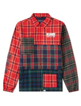 Billionaire Boys Club Multi Check Zip Jacket by Billionaire Boys Club