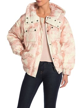 Tie Dye Down Puffer Jacket by Atm Anthony Thomas Melillo