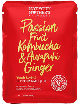 Passion Fruit Kombucha & Awapuhi Ginger Youth Revival Butter Masque by Not Your Mother's