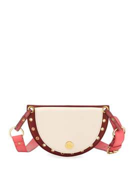Kriss Colorblock Leather Belt Bag/Fanny Pack by See By Chloe