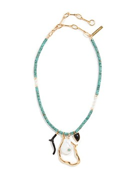 Blue Horizon Necklace by Lizzie Fortunato