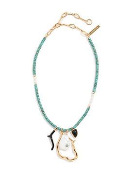 Blue Horizon Necklace by Lizzie Fortunato