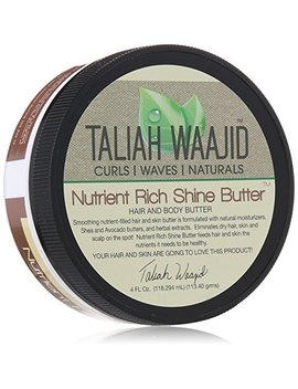 Taliah Waajid Curls, Waves And Naturals Nutrient Rich Shine Butter, 4 Ounce by Taliah Waajid