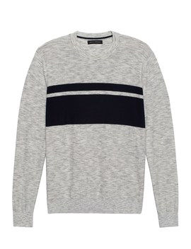 Super Soft Crew Neck Sweater by Banana Repbulic