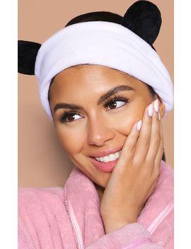 Panda Ear Makeup Headband by Prettylittlething