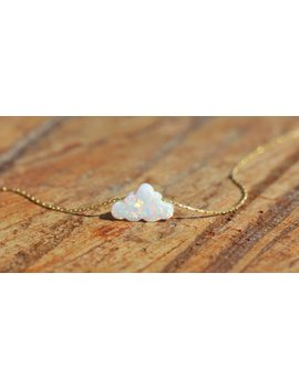 """<Span Data Preview Title="""""""">Opal Necklace, Opal Jewelry, White Opal Charm, White Cloud Necklace, Opal Pendan...</Span>          <Span Data Full Title="""""""" Aria Hidden=""""True"""" Class=""""Display None"""">Opal Necklace, Opal Jewelry, White Opal Charm, White Cloud ... by Etsy"""