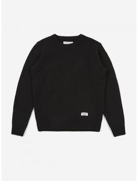 Classic Crewneck Sweater   Black by Wacko Maria