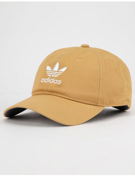Adidas Originals Relaxed Raw Sand Mens Strapback Hat by Adidas
