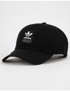 Adidas Originals Trefoil Patch Black & White Mens Snapback Hat by Adidas