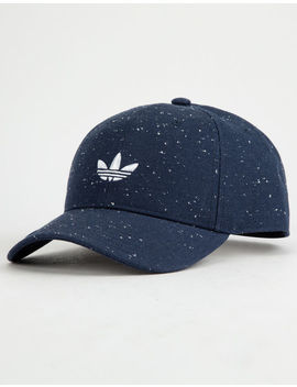 Adidas Originals Relaxed Wool Collegiate Navy & White Mens Strapback Hat by Adidas
