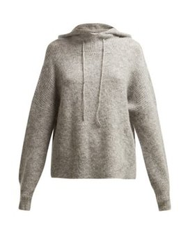 Callahan Hooded Sweater by Ganni